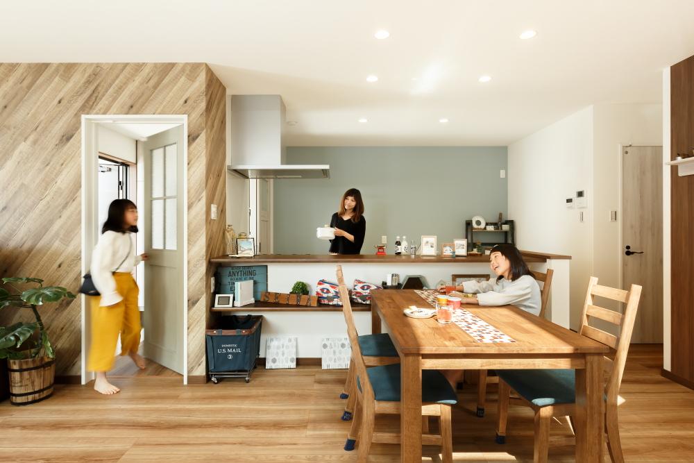 もっと家族の時間を楽しむ家 オープンハウス/草津市