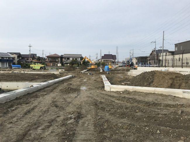 栗東市川辺4期分譲地造成工事