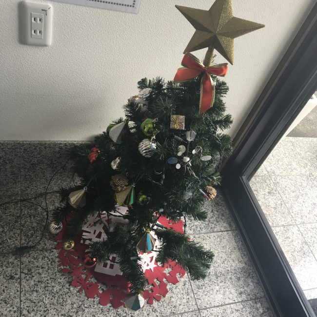西和不動産本社クリスマス