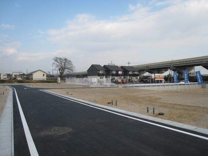 大津市下阪本2丁目分譲地