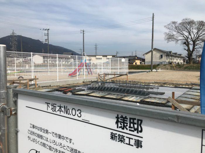 下阪本03モデルハウス基礎工事