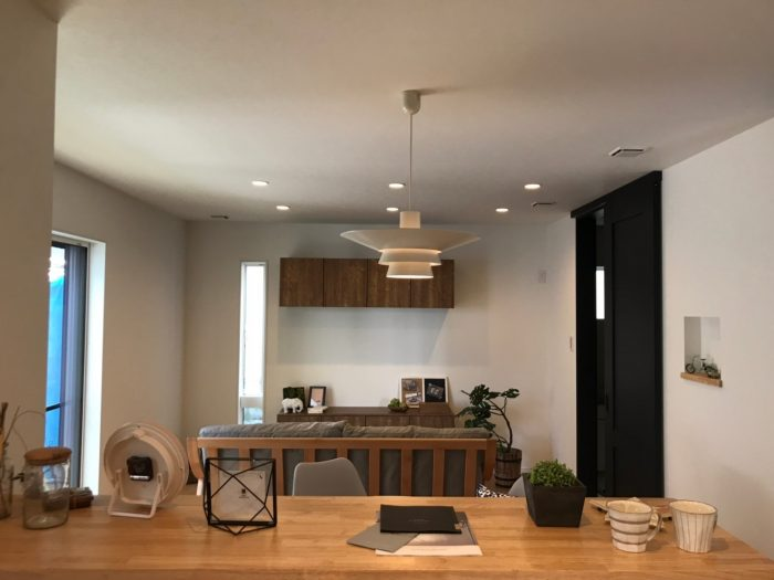 守山市今宿4丁目モデルハウス完成