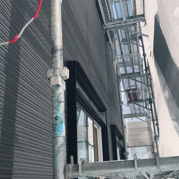 下阪本03モデルハウス外壁工事
