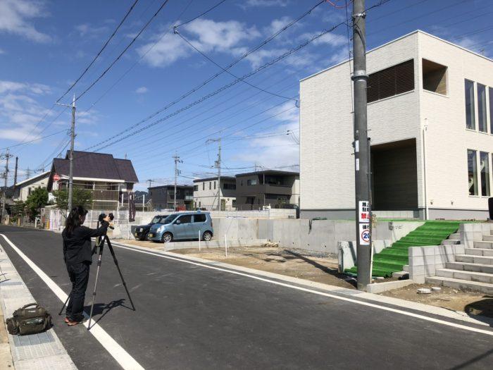 栗東市川辺03モデルハウス撮影