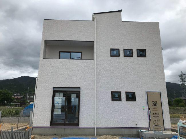 下阪本13屋上庭園モデルハウス