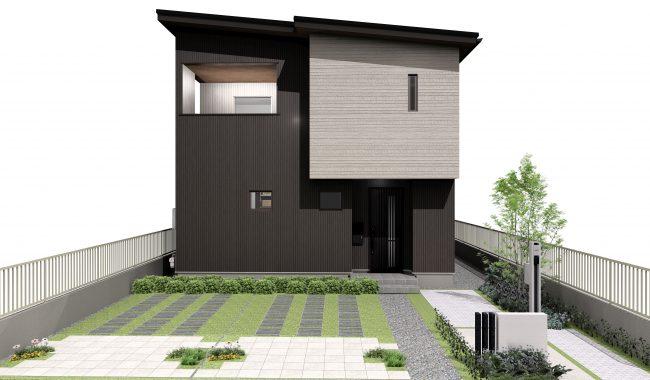 関津67モデルハウス完成予想パース