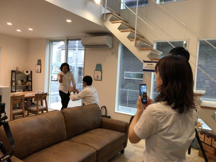 西和不動産モデルハウス撮影勉強会