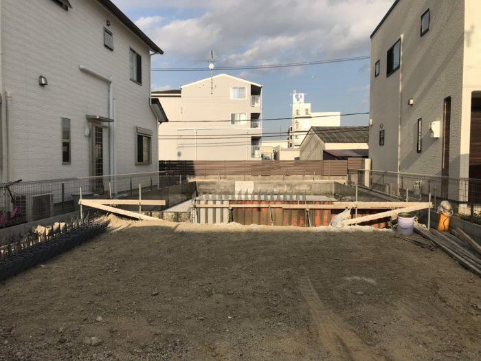 南草津02モデルハウス基礎工事