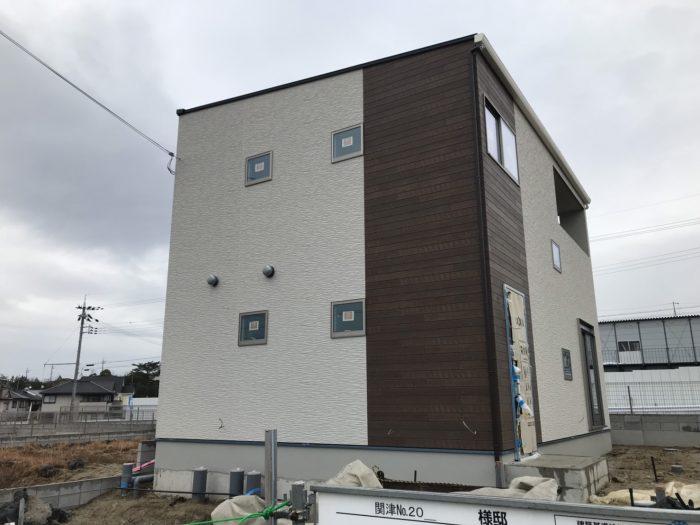 関津20モデルハウス外観