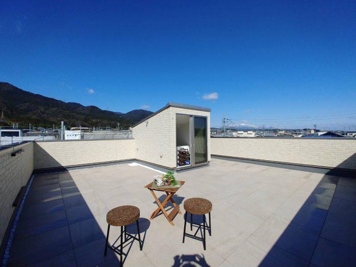 大津下阪本18屋上庭園モデルハウス