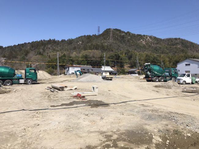 野洲市小篠原台分譲地造成工事