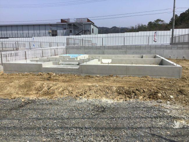 関津17モデルハウス基礎工事