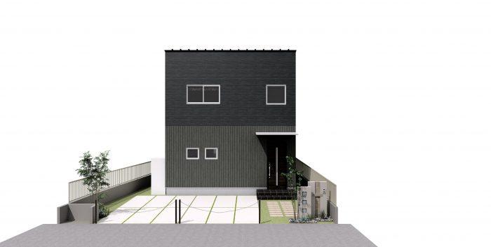 下阪本20モデルハウス完成予想パース